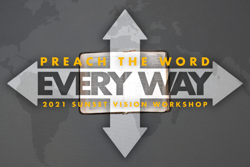 Sunset Vision Workshop 2021